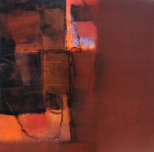 Abstract Acrylic Art Painting title 'Untitled 38' by artist Umesh Patil