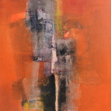 Abstract Acrylic Art Painting title Untitled 5 by artist Umesh Patil