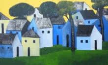 art,painting,nagesh,ghodke,acrylic,house