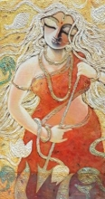 Krrooraa | Painting by artist Subrata Ghosh | acrylic | Canvas