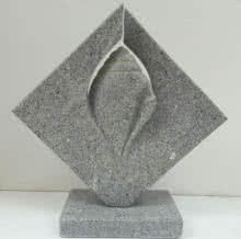 Granite Sculpture titled 'Untitled' by artist Nema Ram