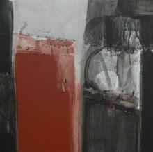 Anil Gaikwad | Acrylic Painting title Terra Incognita 15 on Canvas | Artist Anil Gaikwad Gallery | ArtZolo.com