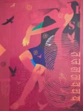 Feminity-14 | Painting by artist Ranjit Singh | acrylic | Canvas