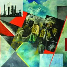 Change | Painting by artist Ajit  Deswandikar | oil | Canvas