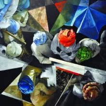 Top Veiw 2 | Painting by artist Ajit Deswandikar | oil | Canvas