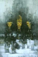 Untitled   Painting by artist Pankaj Bawdekar   acrylic   Canvas