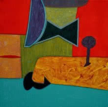 Untitled 16 | Painting by artist Bhushan Vaidhya | acrylic | Canvas