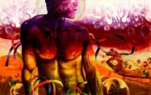 art, beauty, painting, oil, canvas, fantasy