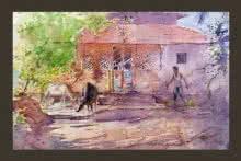 Vengurla | Painting by artist Swapnil Mhapankar | watercolor | Handmade Paper