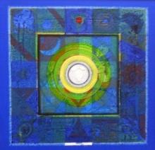 Meditation 8 | Painting by artist Nilesh Nikam | acrylic | Canvas
