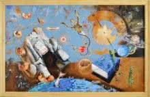 Iqra | Painting by artist Zakir Hussain | acrylic | Canvas