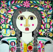Women | Painting by artist Ravi Kattakuri | acrylic | Canvas