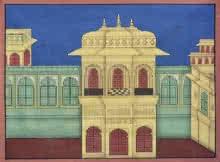 Pushkar Lohar | Pichwai Traditional art title Pichwai 8 on Cotton Cloth | Artist Pushkar Lohar Gallery | ArtZolo.com