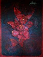 Hidden Truth | Painting by artist yolanda desousa. | acrylic | canvas