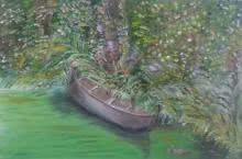 Boat Series5 | Painting by artist Vidya Lakshmi | oil | Canvas