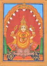 Radhika Ulluru | Mysore Traditional art title Koorma Avatara on Paper | Artist Radhika Ulluru Gallery | ArtZolo.com