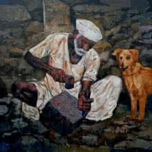 Creator | Painting by artist NanaSaheb Yeole | oil | Canvas
