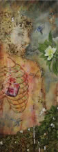 Nature Mixed-media Art Painting title 'Self And Nature 1' by artist RAMA REDDY