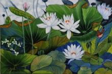 lotus #green#bird