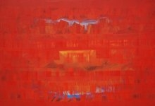 Search Of Eternity 19 | Painting by artist Raghu Neware | oil | Canvas