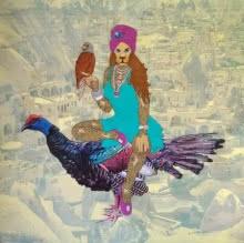 Desert Queen   Painting by artist Bandana Kumari   acrylic   Canvas