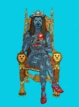Fantasy Acrylic Art Painting title 'Morning Tea' by artist Bandana Kumari