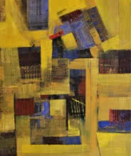 Painting 13 | Painting by artist Tejas Danej | acrylic | Canvas