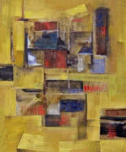 Painting 14 | Painting by artist Tejas Danej | acrylic | Canvas