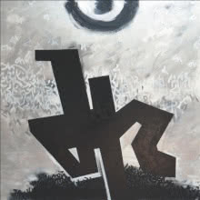 The Sage | Painting by artist Achyut Palav | calligraphy | Canvas