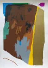 Theorema Series 4   Painting by artist M F Husain   serigraphs   Paper