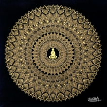 Other Others Art Drawing title 'Golden Mandala Copy' by artist V Pugalenthi