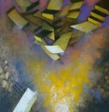 Untitled 4 | Painting by artist Vijayraaj Bodhankar | acrylic | Canvas