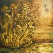 Now Asserting | Painting by artist Vikram Nayak | oil | Canvas