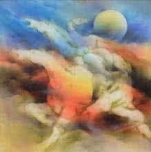 Horse 1 | Painting by artist Vishnu Sonavane | acrylic | Canvas