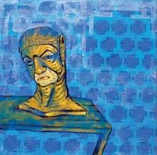 Self Still Life 1 | Painting by artist Abhishek Chourasia | acrylic | Canvas