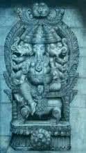 Lord Ganesha | Painting by artist Preeti Ghule | charcoal | Paper