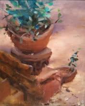 Backyard2 | Painting by artist SURABHI GULWELKAR | oil | Canvas