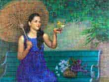 Freedom Large   Painting by artist Aditya Phadke   oil   Canvas