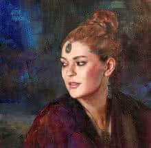 Girl Large   Painting by artist Aditya Phadke   oil   Canvas