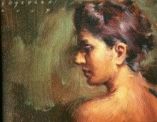 Untitled 1 | Painting by artist Siddharth Gavade | oil | Canvas