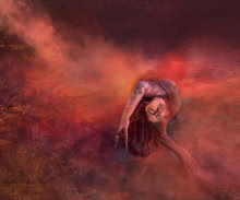 Dancing women 14 | Photography by artist Harrashad  Kaamble | Art print on Canvas
