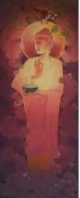 Lord Buddha 2 | Painting by artist Swapan Das | gouche | Paper