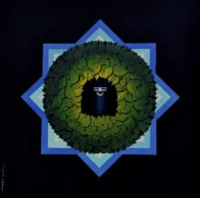 Religious Acrylic Art Painting title 'Araddhya' by artist RAJIB DEYASHI