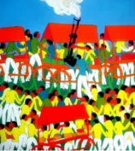 New Place | Painting by artist Kumar Ranjan | acrylic | Canvas