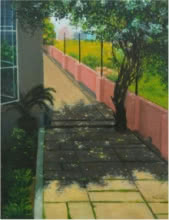 Outdoor Study | Painting by artist PROTYUSHA MITRA | oil | Canvas