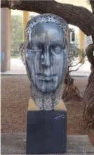 Lock And Key | Sculpture by artist Sagar Rampure | Fiberglass