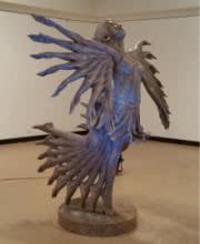Past Forward Ii   Sculpture by artist Sagar Rampure   Fiberglass