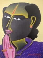 Untitled | Painting by artist Thota Vaikuntam | acrylic | Canvas