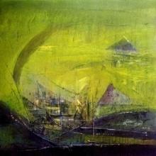 Untitled 20x20 Jpg | Painting by artist Dnyaneshwar Dhavale | acrylic | Acrylic on canvas