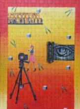Golden Eye | Painting by artist Riddhima Sharraf | acrylic-oil | Canvas